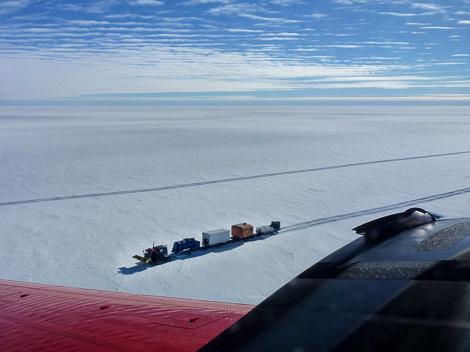 Die Traverse aufgenommen von Polar 6