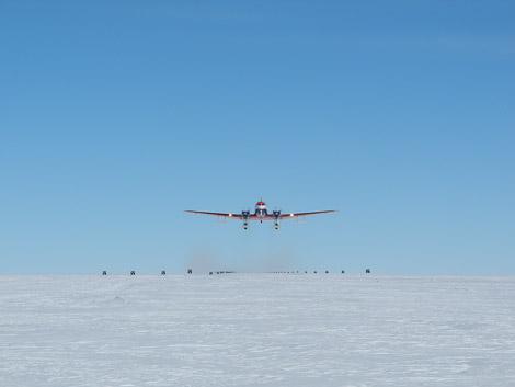 Polar6 beim Start. Diese Woche selten zu sehen.